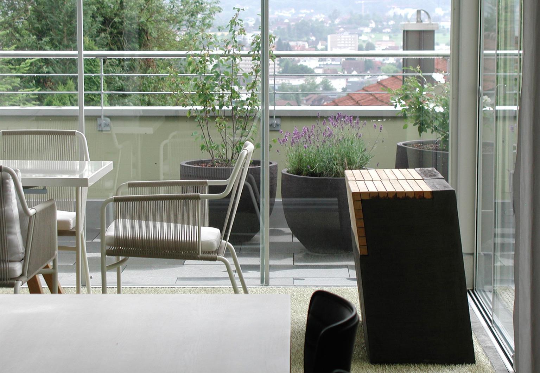 Outdoor Gestaltung | d sein werke | Konzept Wintergarten, Terrasse