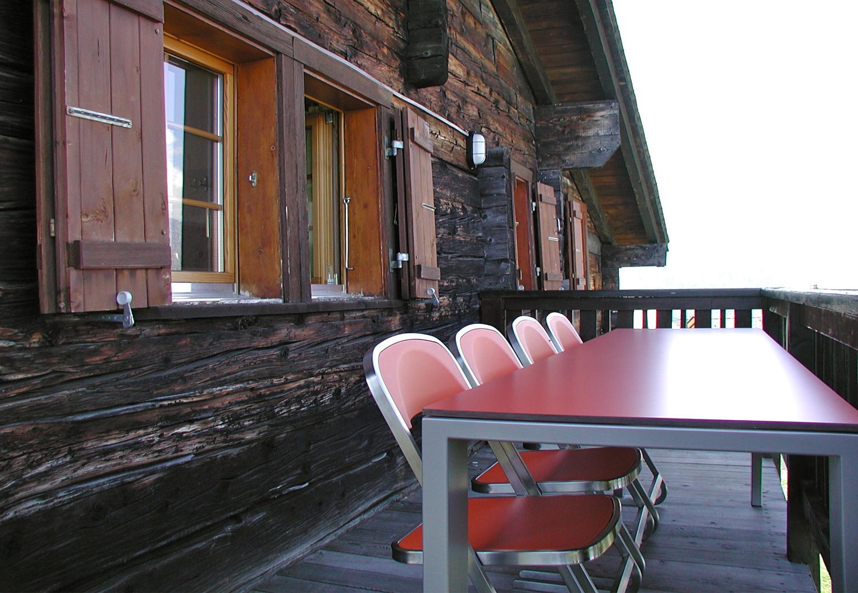 Outdoor Gestaltung | d sein werke | Gestaltung Chalet-Terrasse