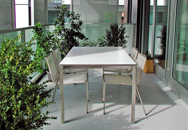 Outdoor Gestaltung | d sein werke |Möblierung Stadtbalkon